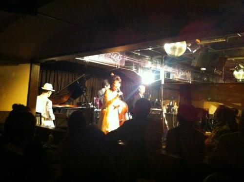ジャズライブ:2012年9月①