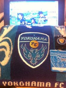 横浜FCクラブメンバーズDAY タオル、バッチ、会員カード
